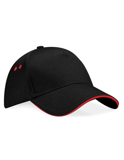 Beechfield Ultimate 5 Panel Cap - Sandwich Peak