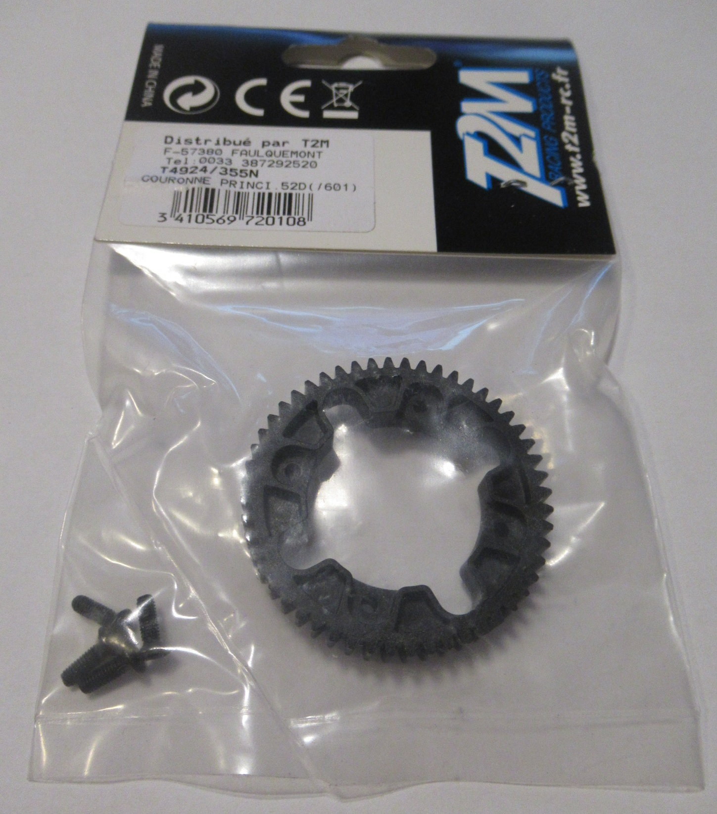 T2M T4924/355N Spur Gear 52T for T2M Pirate Furious XL